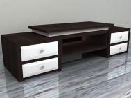 Buffet minimalis laci black white