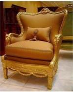 Sofa single gold