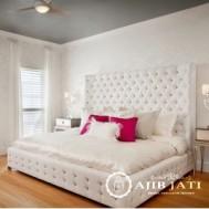 kamar set minimalis putih