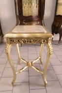 meja konsul gold top Marmer