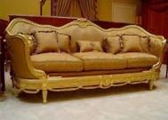 Sofa ukir mewah long