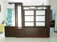 Partisi ruangan minimalis brown 2