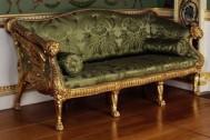 Sofa gold mewah