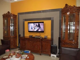 Davinci set living room