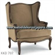 Kursi sofa jok brown