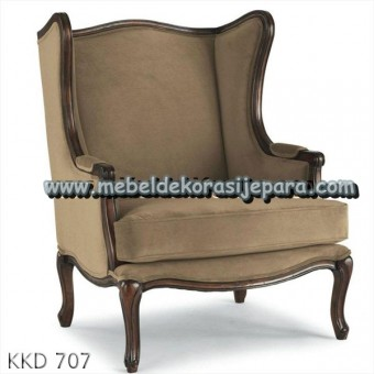 Kursi sofa jok brown
