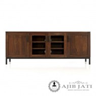 Buffet minimalis brown