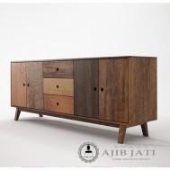 Meja drawer antik