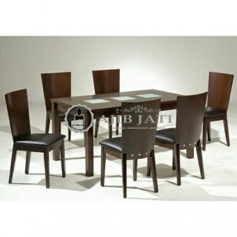 meja makan minimalis blok