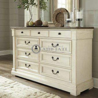 Meja drawer serena modern duco